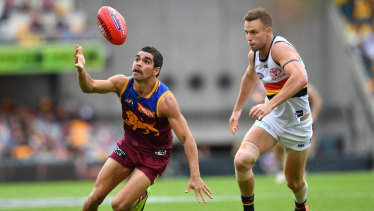 The Lions' Charlie Cameron relished playing against his former club on Saturday.