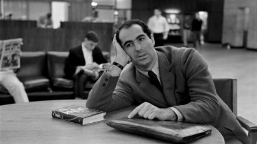 Philip Roth at Princeton in 1964.