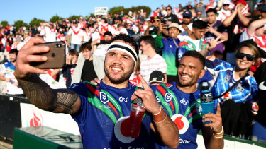 The New Zealand Warriors could have a rivalry with another team based across the Tasman.
