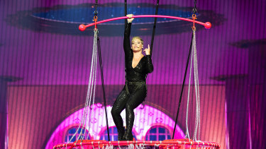 The show was the first of a series of concerts she will play in Australia.