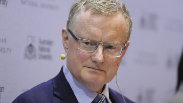 Reserve Bank of Australia governor Philip Lowe said the economy had grown below trend over the past year.