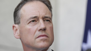Greg Hunt is planning to overhaul the rules that prevent health funds paying for specialist treatment delivered outside hospitals.