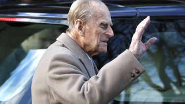 Prince Philip has given up his driver's licence..