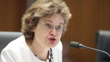 DFAT Secretary Frances Adamson on Thursday.