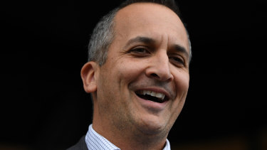 It has been a baptism of fire for new NRL chief executive Andrew Abdo.