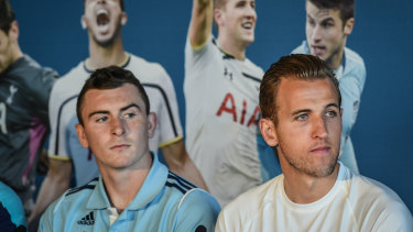 Sebastian Ryall says he had more than a bottle of wine the night before Sydney FC faced Harry Kane's Tottenham Hotspur in a friendly in 2015.