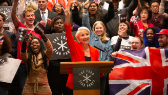 Emma Thompson as Vivienne Rook in Years and Years.