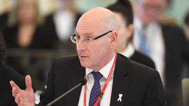Director-General of Queensland Health Michael Walsh.