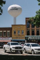 Mount Pleasant, Iowa.