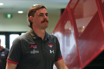 On the injury list: Joe Daniher.