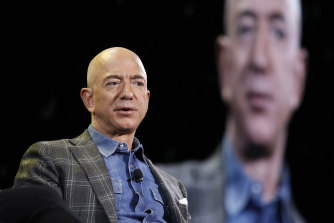 Amazon chief Jeff Bezos is stepping down this month.