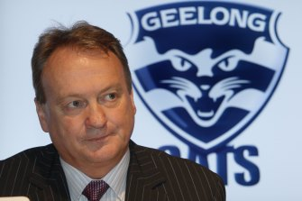 Geelong CEO Brian Cook.