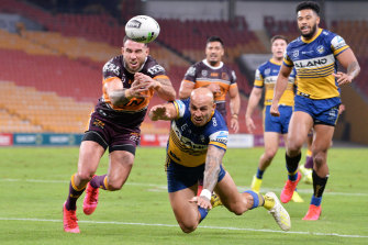 Thursday night's clash between the Eels and Broncos in Brisbane was a ratings smash.