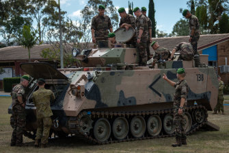 France is already active in the region, with Australian and French troops last month conducting joint exercises in Queensland.