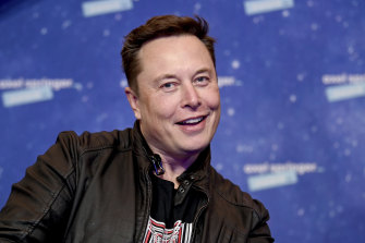 Jumping the shark: Elon Musk's latest tweet has again moved prices.