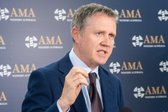 AMA WA president Dr Andrew Miller.