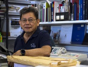 Glory Printing owner Pang Gunawan.