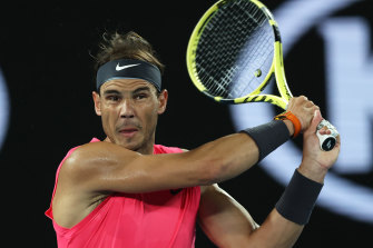 "Rafael Nadal responded: ""I really don't care at all""."