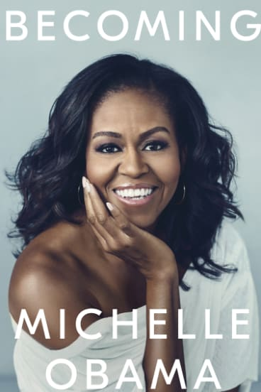 """Michelle Obama's memoir, """"Becoming"""" will be released in Australia on Wednesday."""