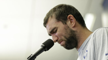 Enough is enough: Indianapolis Colts quarterback Andrew Luck is retiring at age 29.
