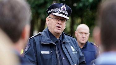 Victorian chief commissioner Graham Ashton.