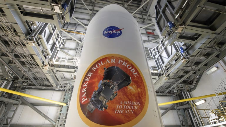 The Parker Solar Probe will travel through the sun's atmosphere, closer to the surface than any other spacecraft before it.