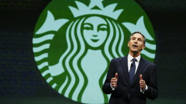 Scott Maw's departure follows that of executive chairman Howard Schultz (pictured).