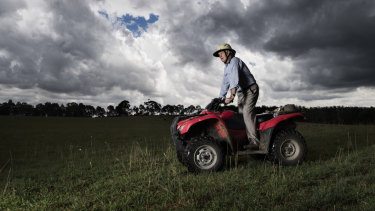 Quad bikes are now the leading cause of non-intentional injury death on Australian farms.