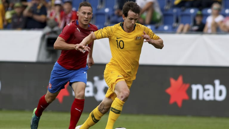 Robbie Kruse will use his Champions League experience in the France clash.