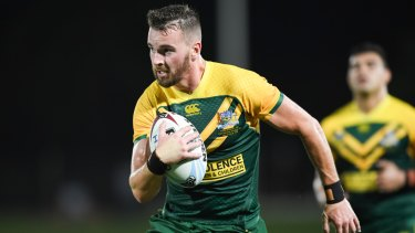 Clint Gutherson scored a hat-trick in the PM's XII win over Fiji.