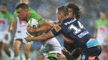 Talking points: Canberra Raiders halves looking all Wight