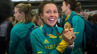 Gold standard: Modern pentathlete Chloe Esposito broke through at the 2016 Rio Games.