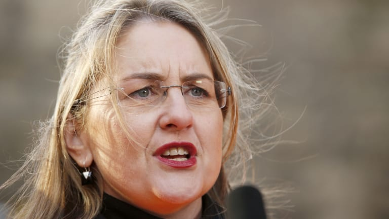 Victorian Transport Minister Jacinta Allan directed Metro Trains to stop broadcasting SkyNews on screens at train stations.
