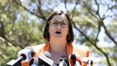 NSW Minister for Education and Early Childhood Learning Sarah Mitchell.