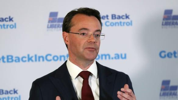 Opposition Leader Michael O'Brien