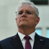Prime Minister Scott Morrison in Canberra on tuesday.