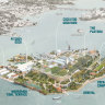 'Bold and ambitious': Cockatoo Island to be transformed with shops, bars and performance spaces