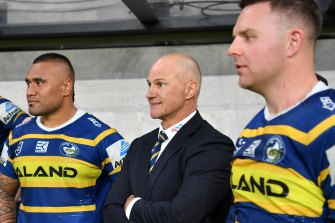 Brad Arthur has been given a one year extension as coach of the Eels.