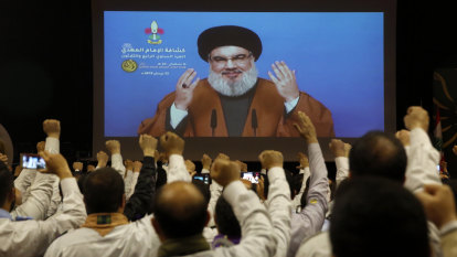 Don't blame us, says Hezbollah leader as Beirut's fury grows