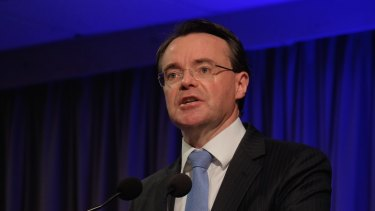 Victorian opposition  Leader Michael O'Brien addresses the Liberal Party State Council meeting on Sunday