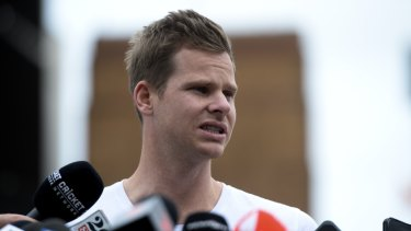 Back in the game: Steve Smith will officially be able to play for Australia again next Friday.