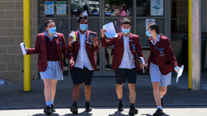 Jitters eased as VCE students sail through 'very fair' English exam