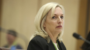 Australia Post chief executive Christine Holgate was forced to stand down this week.