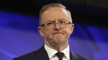 Opposition Leader Anthony Albanese has come under criticism from his progression flank after dumping signature policies.