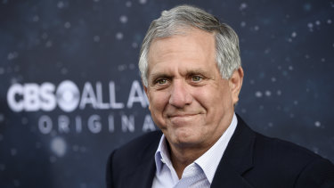 Long-time CBS chief Les Moonves.