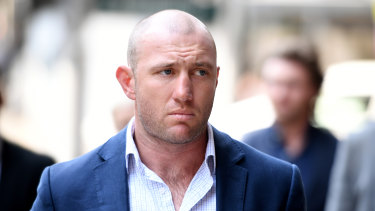 Ugly incident: James Stannard was forced to retire after being punched after a night out in Sydney.