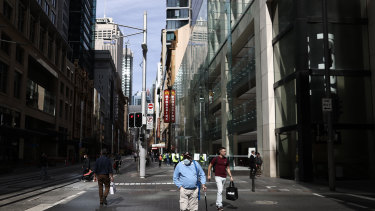 Workers abandoning offices during the coronavirus crisis dealt a $10 billion blow to Sydney's inner city.