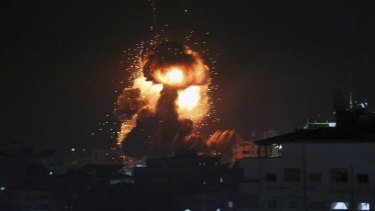 An explosion in the Middle East.