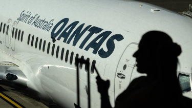 Qantas suspended the worker after he raised concerns about cleaning aircraft that had returned from China.