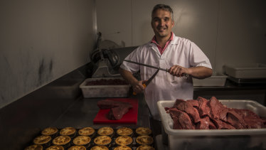 The new owner of Harry's Cafe de Wheels, Tino Dees of the German Butchery in Bexley North, is the first new owner since 1988.